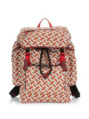 Ranger Monogram Print Backpack