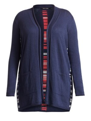Back At It Open Front Cardigan Sweater