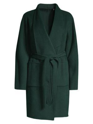 Rhoda Wool Trench Coat
