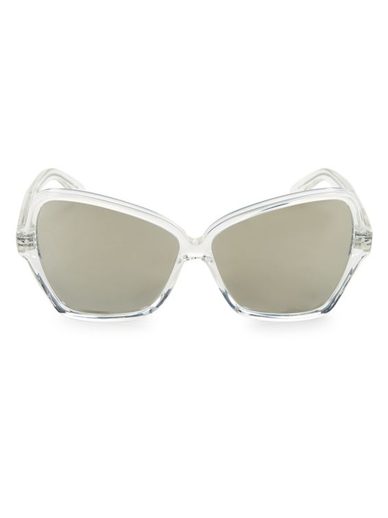 CELINE 64MM Angluar Bufferfly Sunglasses