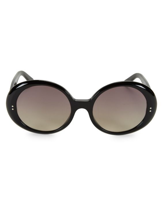 CELINE CL40065I 57MM Round Sunglasses