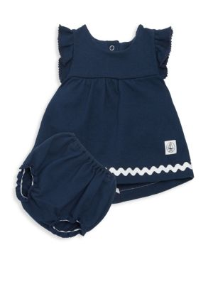 Baby Girl's Balcon Two-Piece Dress & Bloomer Set