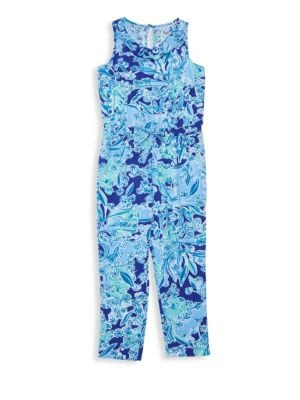 Little GIrl's & Girl's Vala Jumpsuit