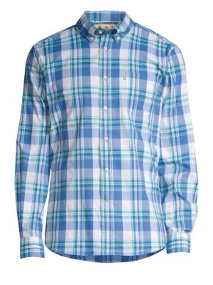 Country Plaid Button-Down Shirt