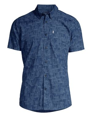 Boat Graphic Short-Sleeve Shirt