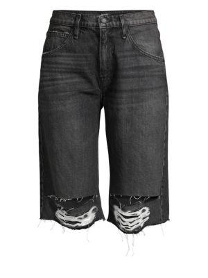 Sloane Long Cut-Off Shorts