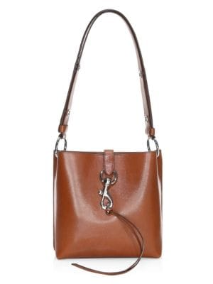 Small Megan Leather Feed Bag