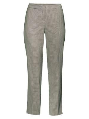 Tiluna Houndstooth Wool-Blend Slim-Fit Ankle Trousers