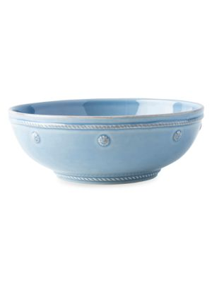 """Berry & Thread Chambray 7.75"""" Coupe Pasta Bowl"""