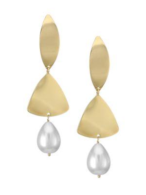 Ombre Faux Pearl Earrings