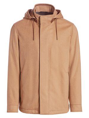 Cashmere-Blend Jacket