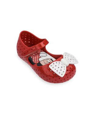 Baby's, Little Girl's & Girl's Perforated Mary-Jane Flats