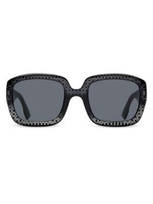 Dior 54MM Square Sunglasses