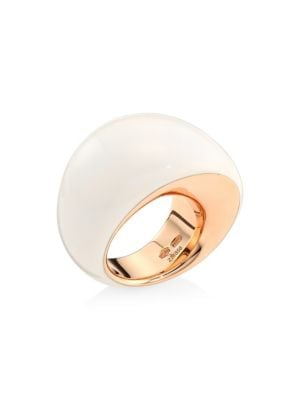 Pirouette 18K Rose Gold & Kogolong Ring