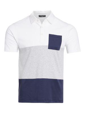 MODERN Colorblock Cotton Polo