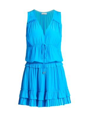 Hadley Ruffled Blouson Dress