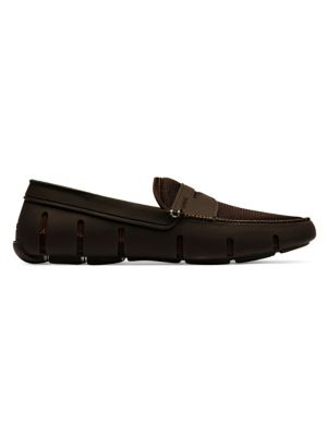 Classic Mesh Penny Loafers