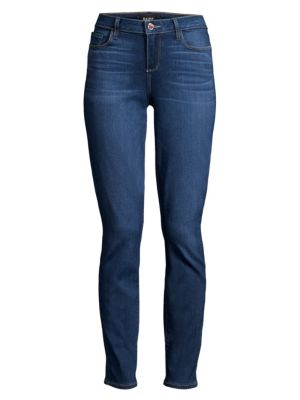Skyline Mid-Rise Ankle Skinny Jeans
