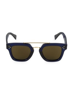 47MM Plastic Square Sunglasses