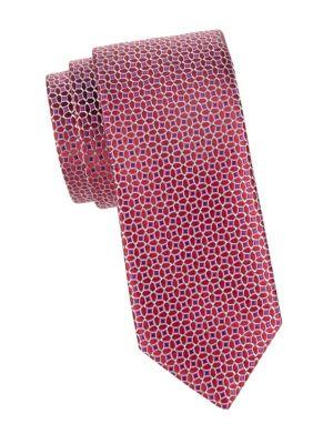 Beehive Silk Tie
