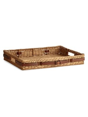 Bailey Wicker Tray