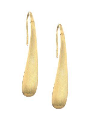 Lucia 18K Gold Pendant Earrings