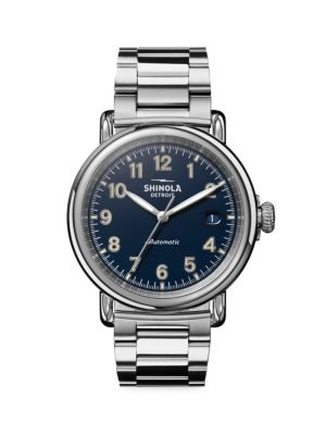 Runwell Automatic Stainless Steel Bracelet Watch