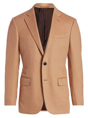 Two-Button Camel Jacket