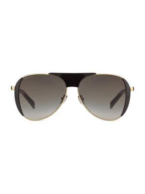 Raves 56MM Pilot Sunglasses