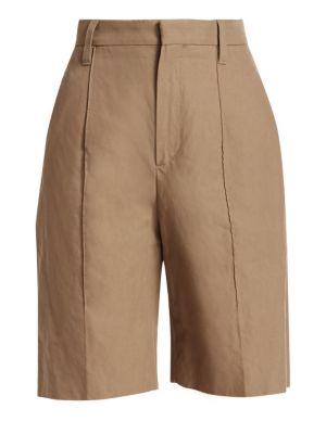 High-Rise Bermuda Shorts