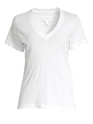 The Perfect Cotton V-Neck Tee