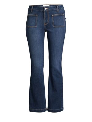 The Cropped Bootcut Jeans