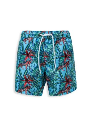 Little Boy's & Boy's Jungle Board Shorts