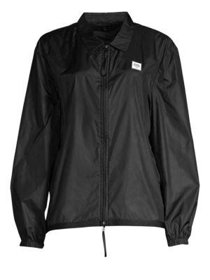 Mesh Back Logo Nylon Jacket