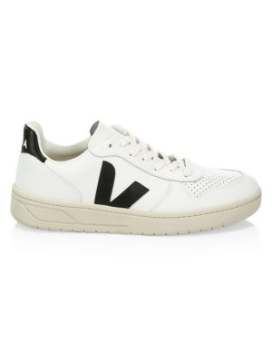 V-10 Recycled Mesh Lace-Up Sneakers