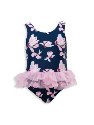 Baby Girl's Orchid One-Piece Swimsuit
