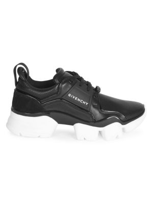 Jaw Low-Top Leather Sneakers
