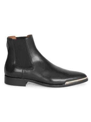 Dallas Leather Chelsea Boots