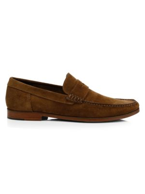 Stockton Suede Penny Loafers