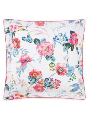 Madeleine Floral Cotton Pillow Sham
