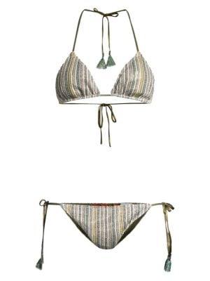 2-Piece String Bikini Set