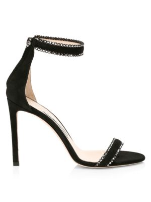 Dochas Embellished Suede Sandals