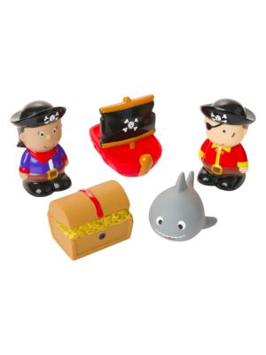 Pirate Party Squirtie Bath Toy Set