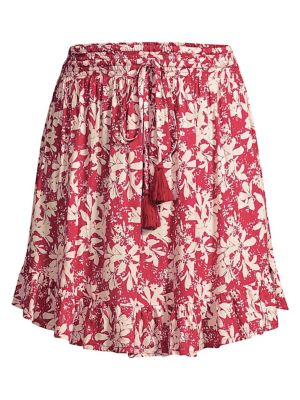 Lily Rose Pleated Ruffled Skirt