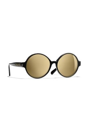 CHANEL | ROUND SUNGLASSES | Goxip