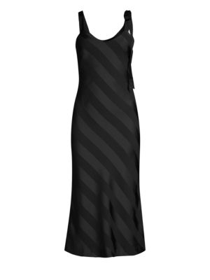 Dolores Striped Slip Dress