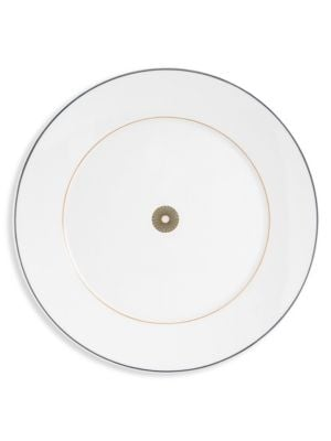 Stripes Porcelain Salad Plate