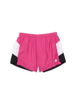 Girl's Perforated Shorts