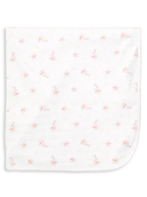 Baby Girl's Pima Cotton Receiving Blanket