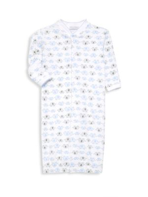 Baby Boy's Pima Cotton Elephant Converter Gown